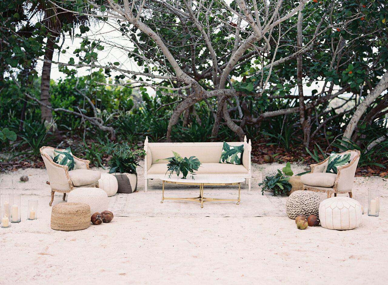 Luxurious + Botanical Wedding Inspiration in Riviera Maya, Mexico