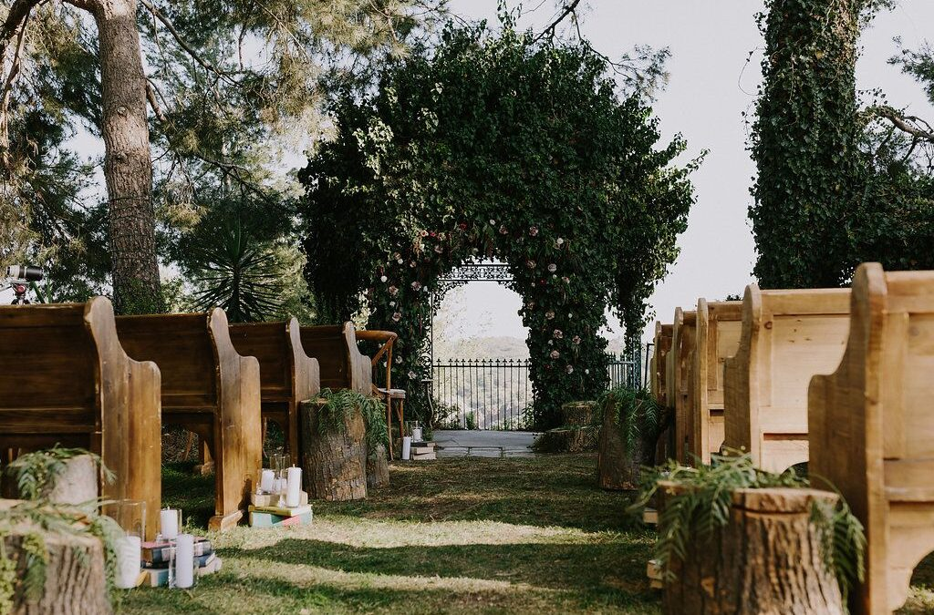 A Moody + Magical Harry Potter Wedding on Martha Stewart Weddings